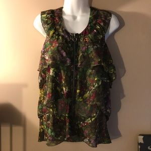 DKNY JEANS Blouse Size Small